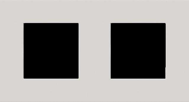 double plaque de recouvrement de 71 mm d 39 entraxe pure natural soft grey. Black Bedroom Furniture Sets. Home Design Ideas