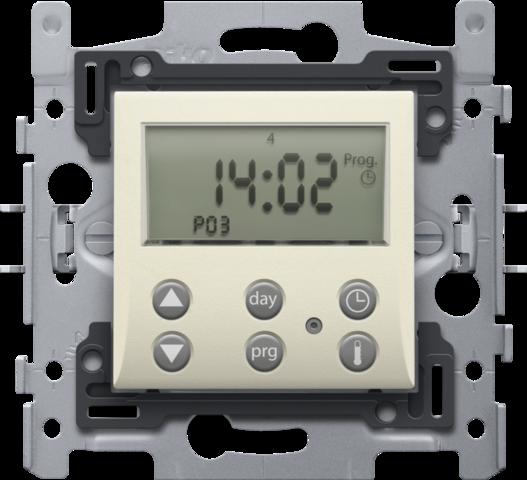 thermostat num rique avec r glage intelligent et contact de commutation 1 a 230v pour r gler la. Black Bedroom Furniture Sets. Home Design Ideas