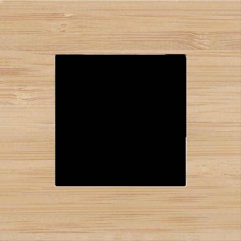 simple plaque de recouvrement pure bamboo. Black Bedroom Furniture Sets. Home Design Ideas