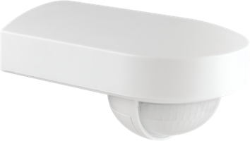 Outdoor motion detector, 180°, Niko Home Control, 16 m, with orientable lens