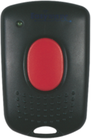 Wireless mini hand-held transmitter with 1 channel and 1 control button