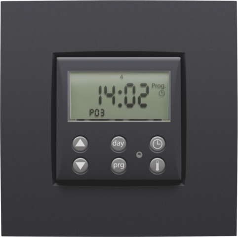 Digital clock thermostat 1A with intelligent regulation for controlling motors