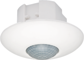 Presence or absence detector, 360°, one channel (10 A), for flush mounting