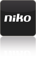 Applicatie voor smartphone of tablet Niko Home Control I