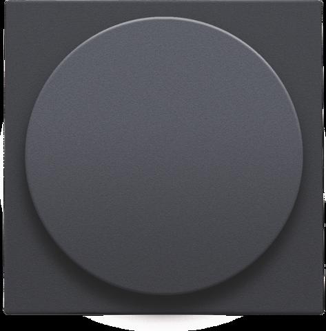 set de finition pour variateur universel bouton rotatif ou extension anthracite. Black Bedroom Furniture Sets. Home Design Ideas