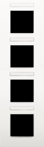 Plaque de recouvrement quadruple de 71 mm d 39 entraxe for Plaque de plexiglas transparent castorama