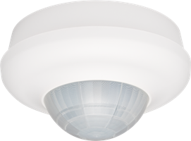 Presence or absence detector, 360°, 230 V, 32 m, master, one channel, for surface mounting on high ceilings