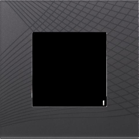simple plaque de recouvrement pure fluent anthracite. Black Bedroom Furniture Sets. Home Design Ideas