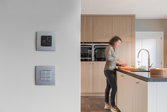 Niko Home Control - Space, peace and green surroundings